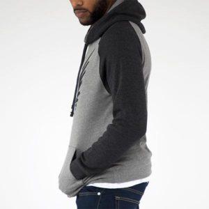 Maverick Black 2-Tone Hoodie